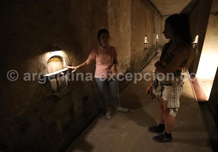 Que faire dans la région de Mendoza, bodega de Clos de Chacras avec l'agence de voyage Argentina Excepción