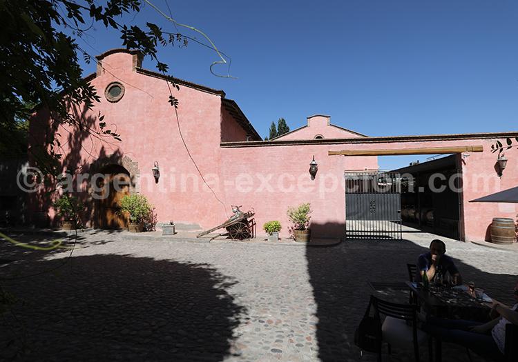 Bodega Clos de Chacras, Luján de Cuyo, Argentine avec l'agence de voyage Argentina Excepción