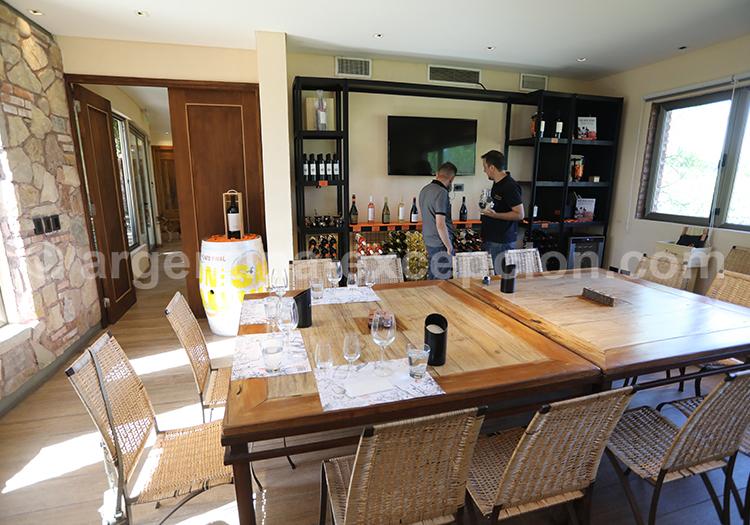 Visite du vignoble Renacer avec l'agence de voyage Argentina Excepción