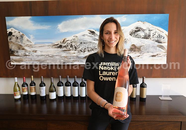 Domaine viticole Casarena avec l'agence de voyage Argentina Excepción