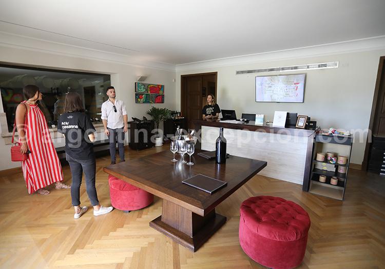 Domaine viticole Casarena, Argentine avec l'agence de voyage Argentina Excepción