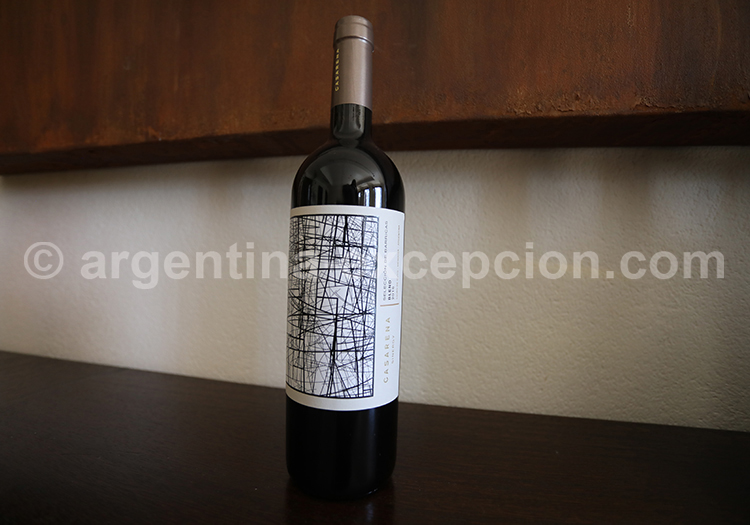Cabernet Franc, bodega Casarena avec l'agence de voyage Argentina Excepción