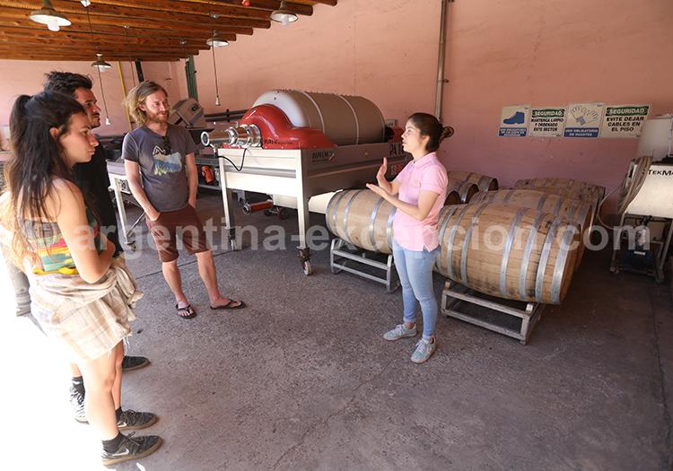 Visiter la bodega de Clos de Chacras, Luján de Cuyo avec l'agence de voyage Argentine Excepción