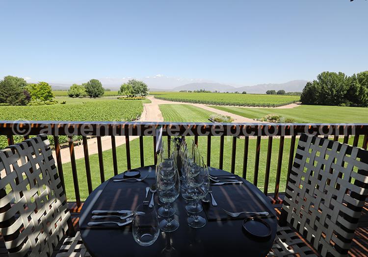 La route du vin argentin et le domaine Decero, Mendoza avec l'agence de voyage Argentina Excepción