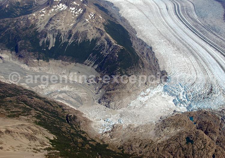 Rive sud du glacier Viedma, Glaciarium, Argentine avec l'agence de voyage Argentina Excepción