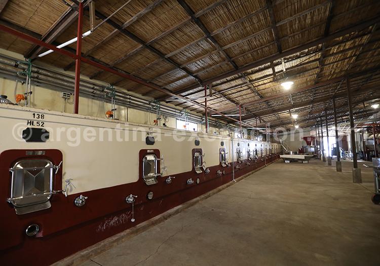 Les bodegas d'Argentine, région de Mendoza, Alta Vista avec l'agence de voyage Argentina Excepción