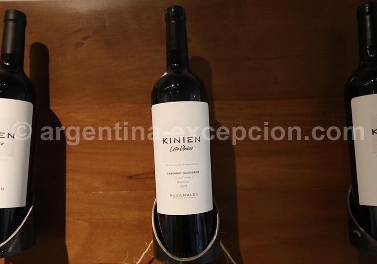Vin Malbec à la bodega Ruca Malen, Argentine avec l'agence de voyage Argentina Excepción