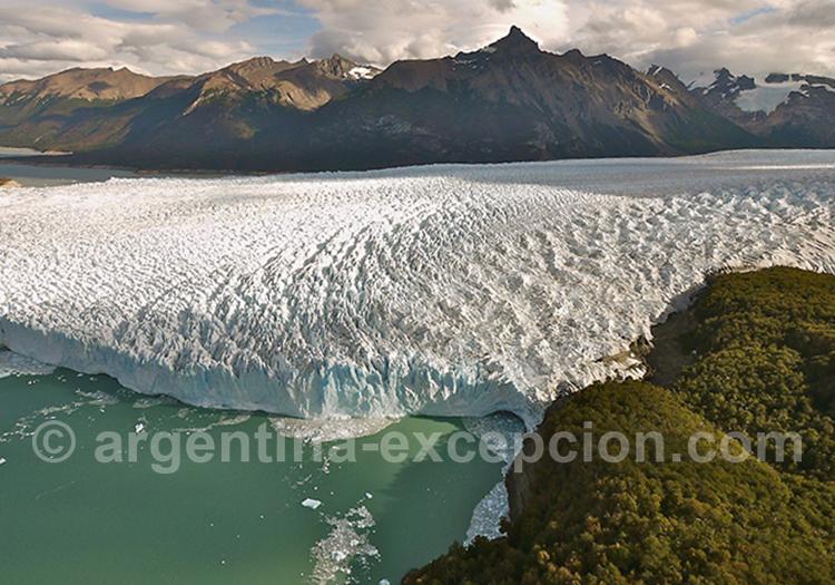 Glaciarium, front nord du glacier Perito Moreno avec l'agence de voyage Argentina Excepción