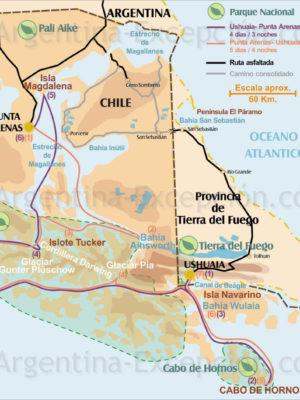 Croisières en Patagonie