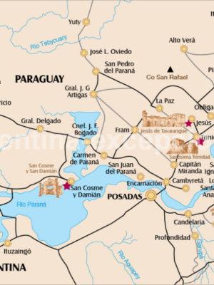 Jésuite en Argentine et Paraguay