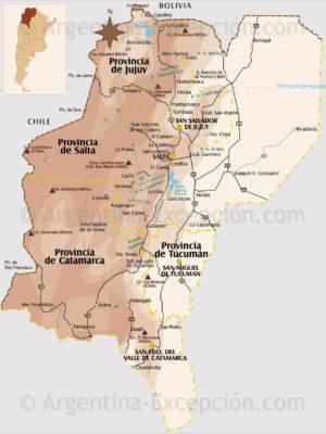 Nord-Ouest de l'Argentine