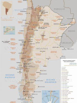 Passage de frontieres entre Chili et Argentine