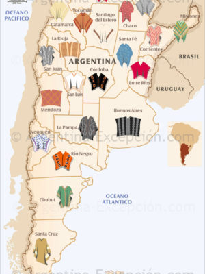 Ponchos d'Argentine