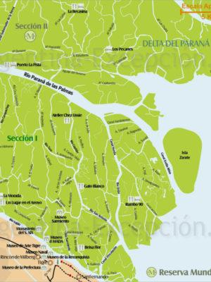 Section 1 Delta du Parana