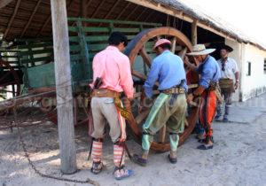 Gauchos originaires de la province de Corrientes