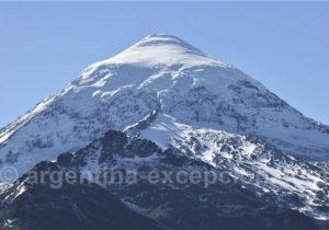 Calotte glaciaire du volcan Lanin