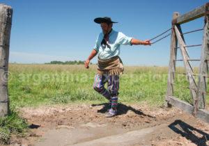 Tenue traditionnelle du gaucho