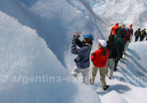 Rando sur glacier, El Calafate