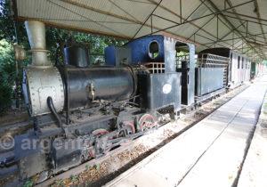 Locomotive à Santa Ana, région Corrientes
