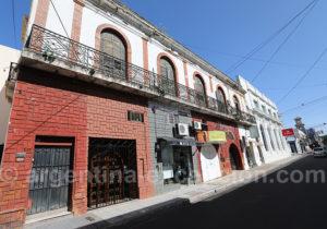 Architecture hétéroclite de Corrientes