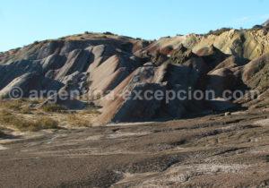 Loberias, parc Ischigualasto