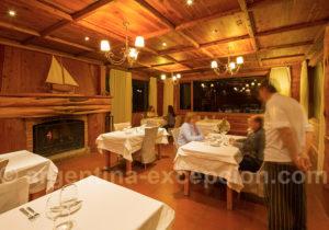 Restaurant de l'hôtel Isla Victoria
