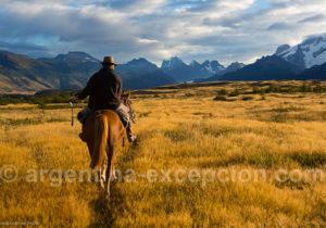 Promenade à cheval à El Calafate