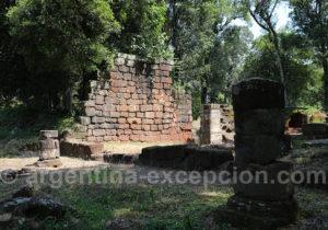 Ruines de Loreto, province de Misiones