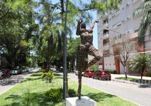 Escultura en la calle, Resistencia, Argentina