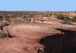 Formations géologiques à Talampaya