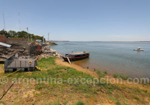Traversée nautique Argentine Paraguay, rio Paraná