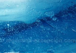 Le bleu de la glace du Perito Moreno