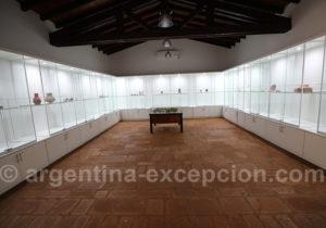 Intérieur du musée de Loreto, Misiones
