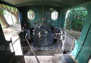 Intérieur locomotive à vapeur, Corrientes