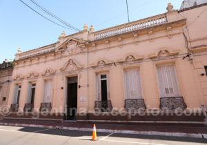 Visite architecturale, ville de Corrientes