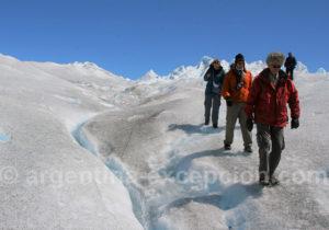 Mini Trekking sur glacier en Patagonie