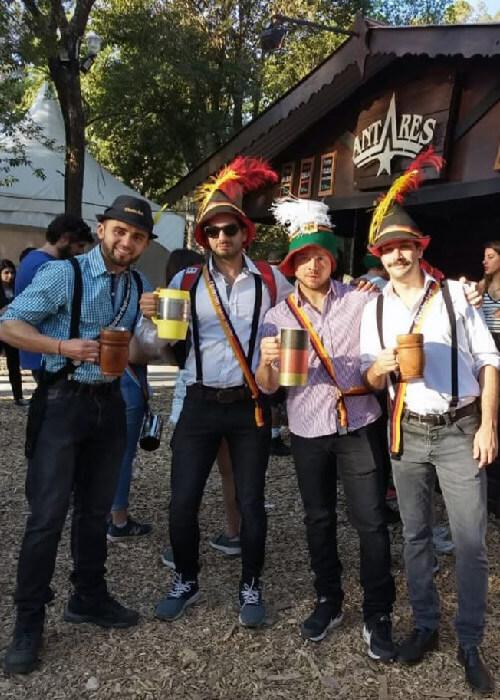 Oktoberfest, fête de la bière en Argentine