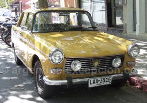 Peugeot 404 à Colonia del Sacramento