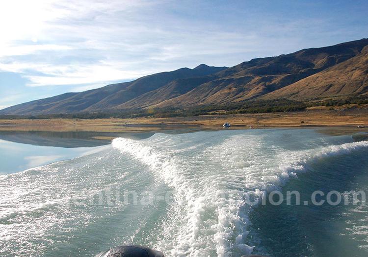 1ere navigation de la randonnée glacier Grande