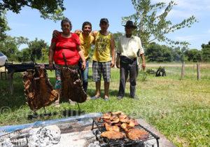 Asado familial à Corrientes