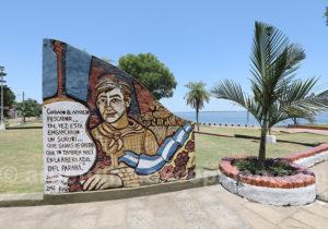 Monument aux pêcheurs, Paso de la Patria, Corrientes