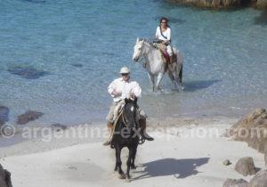 Cabalgata estancia Bahia Bustamante