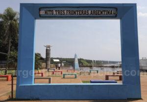 Site des Trois Frontières, Argentine