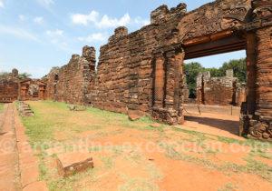 Ruines jésuites de San Ignacio Miní en Argentine