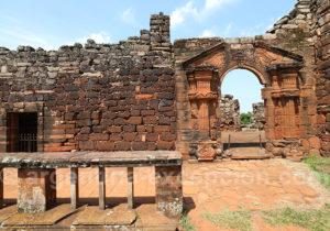 Ruines, localité de San Ignacio