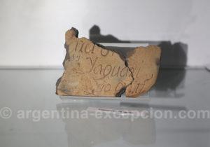 Fragment d'une pierre tombale époque jésuite