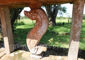 Détail d'une balustrade à San Ignacio Mini
