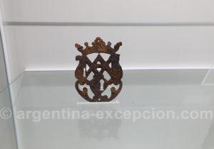 Ornement d'une serrure de l'époque jésuite, musée de Loreto