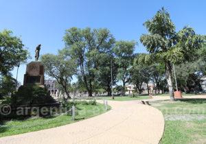 Place de La Cruz, ville de Corrientes