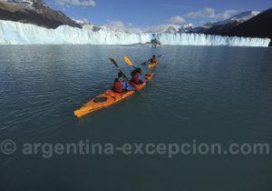Excursion kayak Perito Moreno